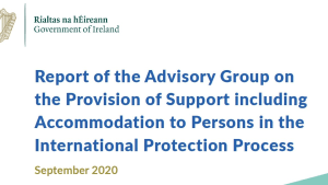 Nasc, the Migrant and Refugee Rights Centre and the Irish Refugee Council welcome Catherine Day Advisory Group report