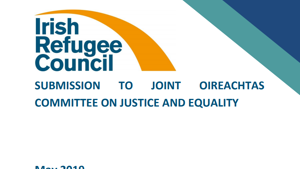 Submission to Joint Oireachtas Committee on Justice and Equality