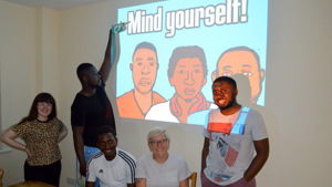 Mind Yourself, A Mental Health Resource for Young People in the Asylum Process
